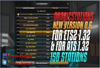 Arabic5tations v0.6 For ETS2 1.32.x