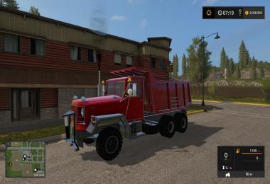 Big red dump truck v2.0