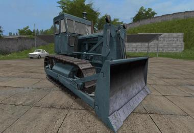 Bulldozer CHTZ T-100 and Blade v1.1