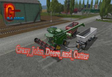 Crazy John Deere and Cutter v1.0
