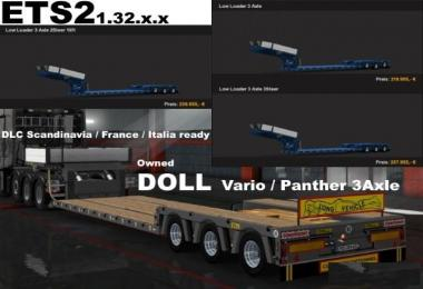 Doll 3 Axle Owned Trailer v7.0