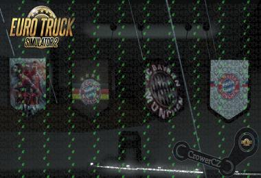FC Bayern Munich Pennants Pack v1.0