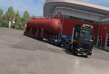 Free - Driving Add-on for Special Transport DLC v0.3