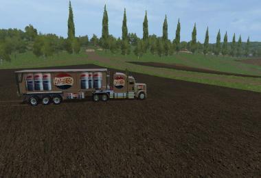 FS17 Pepsi Cola Truck & Trailer v1.0
