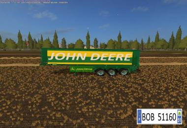 John Deere Trailer Bulk BY BOB51160