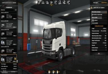 Heavy Engine and Transmission for Scania R 2016 v1.0