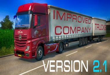 Improved company trucks v2.1