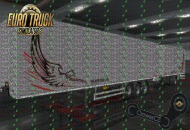 Kogel Silver Griffin Ownership Trailer Skin v1.0