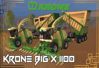KRONE BIG X 1100 BEAST PACK v12.10 Beta