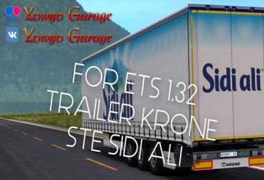 Krone Megaliner -  Sidi Ali For ETS2 1.32