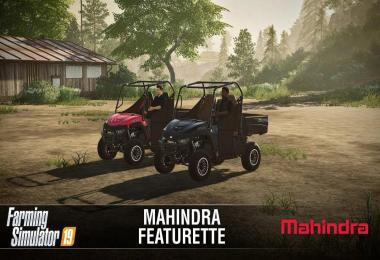 Mahindra Retriever Featurette v1.0