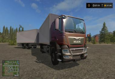 MAN Palletloader Truck + Trailer v1.0