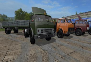 MAZ-504 and Semi trailer MAZ-93801 v1.0