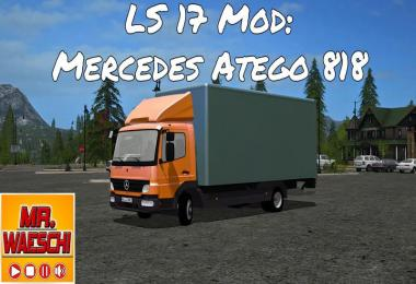 Mercedes Benz Atego 818 with accessories v1.1