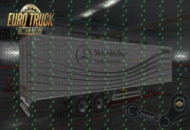 Mercedes-Benz Trailer Concept Ownership Trailer Skin v1.0