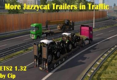 More Jazzycat Trailers and Cargo in Traffic 1.32