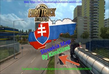 New Slovakia Map by KimiSlimi v6.0