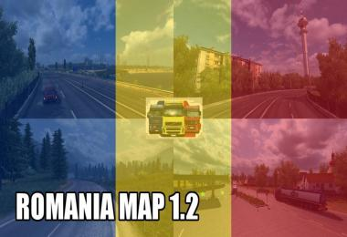 ROMANIA Map 1.2