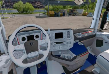 Scani R-S White Blue Interior v1.0