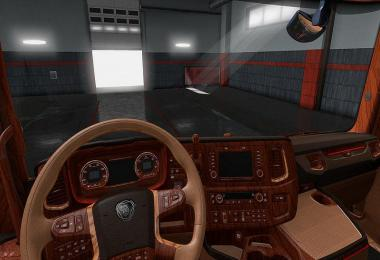 Scania S Wood Interior 1.32