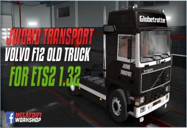 Skin JuomoTransport Volvo F12 For ETS2 1.32