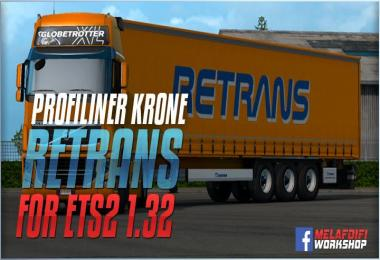 Trailer Company Retrans For ETS2 1.32