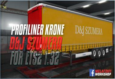 Trailer D&J Szumera For ETS2 1.32