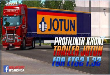 Trailer Krone Jotun For ETS2 1.32