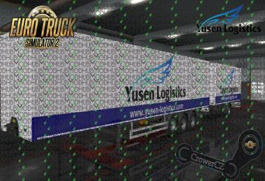Yusen Logistics Ownership Trailer Skin v1.0