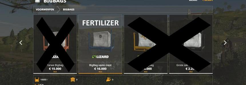 10K capacity bigBag Fertilizer v1.0
