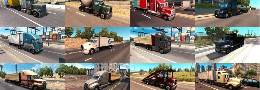 Truck Traffic Pack by Jazzycat v2.0