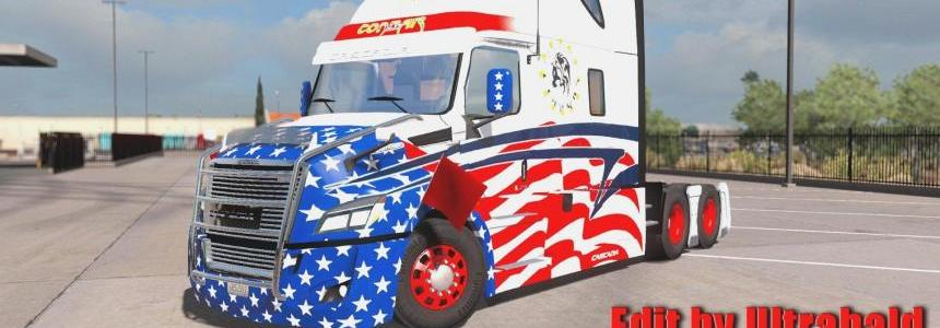 Freightliner Cascadia 2018 v1.4.1 Edit by Ultrabald