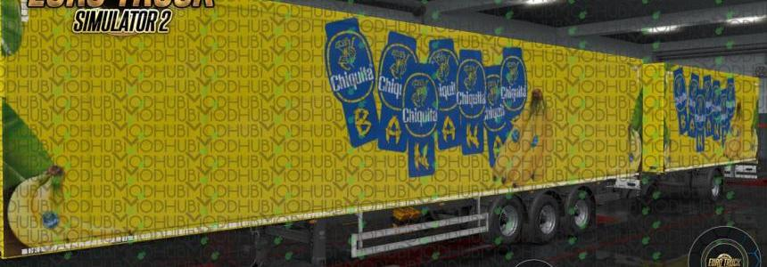 Bananas Chiquita Ownership Trailer Skin v1.0