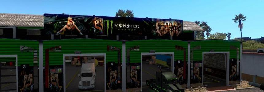 Big Garage Monster Energy Drink 1.32