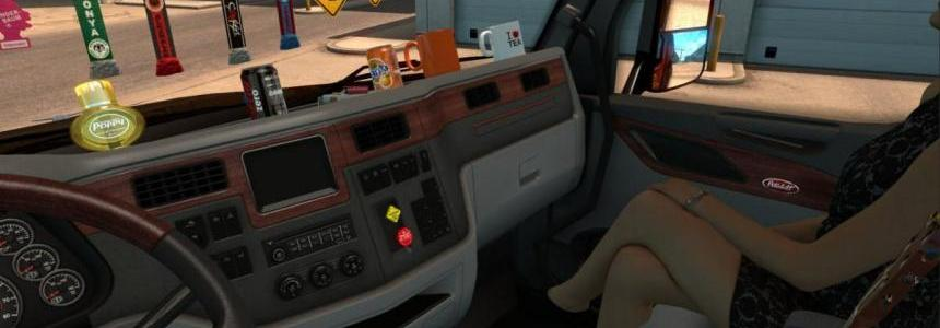 Cabin accessories Mega Pack for SCS Trucks v1.0
