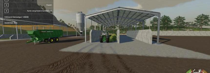 Double Silage Silo Placeable v1.0