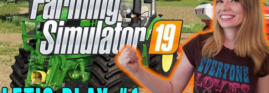 First Reaction and FS19 Gameplay - LS19 Early Accesses v1.0