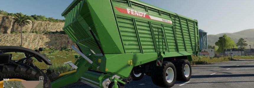 FS19 Fendt Tigo XR 75 v1.0
