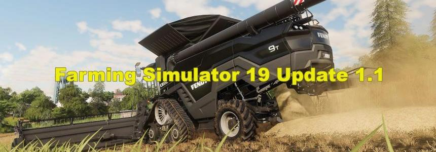 FS19 update (patch) v1.1