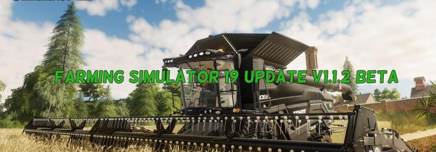 FS19 update v1.1.2 Beta