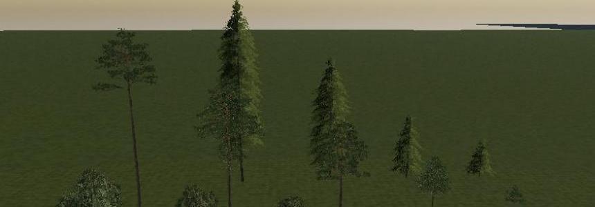 FS19 Trees V1.0
