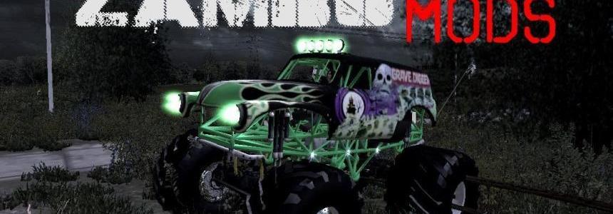 Grave digger Monster Truck v1.0
