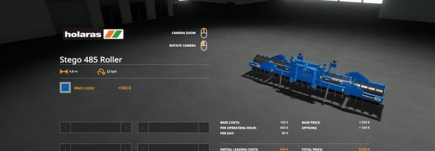 Holaras Stego 485 Roller v1.0.0.0