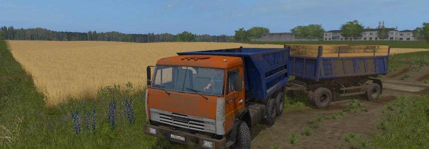 Kamaz 55111 Sovok v1.0