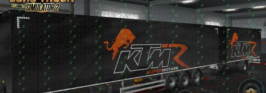 KTM Racing Tandem Ownership Trailer v1.0