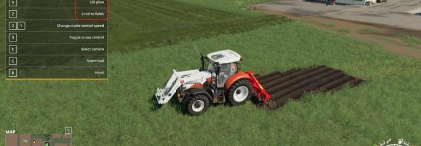 Kuhn DC401 with plow function v1.0