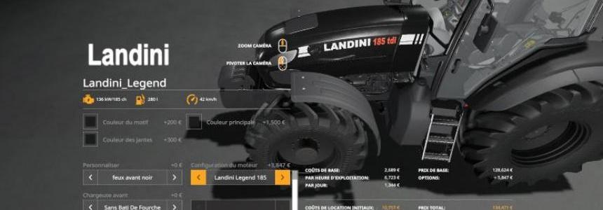 Landini Legend 165/185 tdi v1.0.0.0