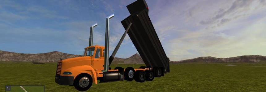 Mack vision dump truck V1.0.0.0