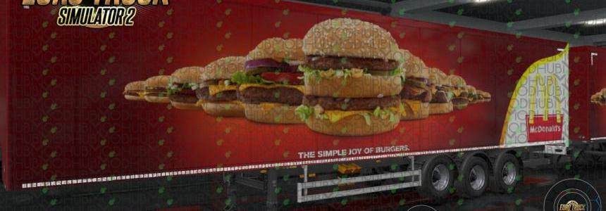 McDonald's Ownership Trailer Skin v1.0