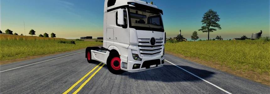 Mercedes Actros MP4 v1.0.0.0